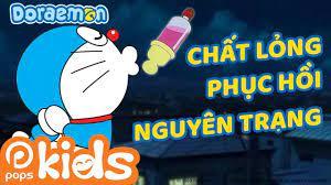 Doraemon Tập 2 - Chất Lỏng Phục Hồi Nguyên Trạng, Thuốc Xịt Kiểm Tra Dấu  Chân - Hoạt Hình Tiếng Việt