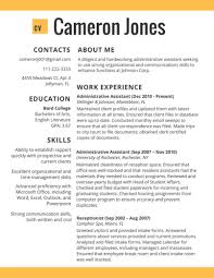 best resume templates 2015 template 2017 resume format cv template in administative worker the