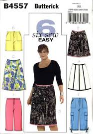 Plus Size Skirt Patterns Unique Butterick Sewing Pattern 48 Womans Plus Size 48W48W Easy ALine