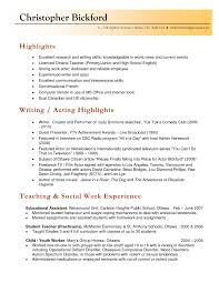 Resume Examples Elementary Student Teaching Template For High