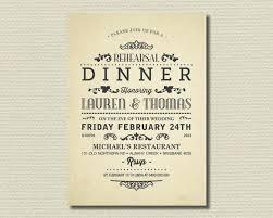 Invitation Wording For Dinner Rehearsal Invitation Wording Wedding Invitations Dinner