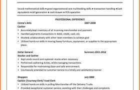 Resume Pretty Ideas Cashier Cover Letter 6 Retail Samples