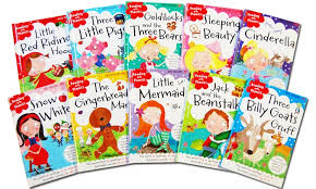 classic fairytale learning readers kids book set 10 piece
