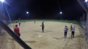 Lily Wade Doubles to CF 2 RBI @ Potomac Clash 2017 - YouTube