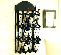 modern wall mounted wine rack racks contemporary decorative uk