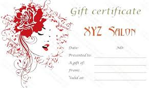 Free Printable And Editable Gift Certificate Templates Beauty