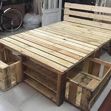 Bedroom furniture ideas Unique Pallet Bed Frame With Storage The Family Handyman 12 Ingenious Bedroom Furniture Ideas The Family Handyman