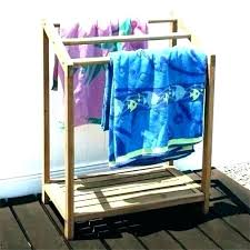 s pool towel stand swimming racks rack pallet drying holders