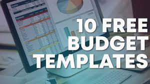 Free Budget Download 10 Free Budget Templates Download Now