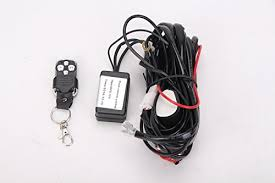 harness remote trainers4me wiring harness kit for led light bar led bar led light 120watt wiring one line relay on off remote control switch harness kit for off road atv