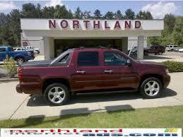 2008 Deep Ruby Red Metallic Chevrolet Avalanche LTZ 4x4 #29483501 ...