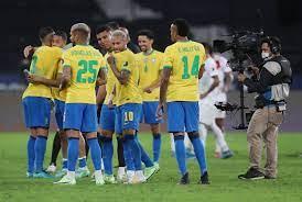 Brazil is weekend's big match ...