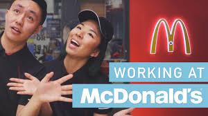 working at mcdonald s