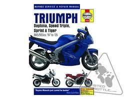 haynes repair manual for triumph daytona i speed haynes repair manual for triumph daytona 955i 97 05 speed triple 955 97 04 sprint 99 04 tiger 900 97 01 tiger 955i 01 06