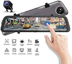 JFZCBXD <b>2K</b> HD Dash Cam Car Camera <b>12 inches</b> Full Touch ...