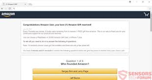 win a 1000 amazon gift card and amazon gift reserved scams