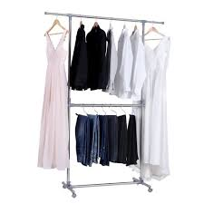standing clothes rack. Modren Standing Clothes Rack Adjustable Height Garment Hanging Rail Stand With Middle With Standing O