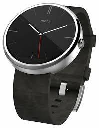 <b>Умные часы Motorola</b> Moto 360 (leather) — купить по выгодной ...