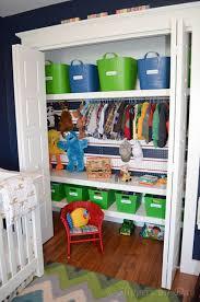 Storage & Organization: Kids Closet Storage Ideas - Closet