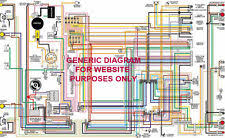 wiring diagram 101 1968 68 chevy camaro full color laminated wiring diagram 11