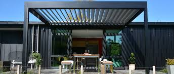 Roof Shade Design Pergolas Louvre Roofs And Outdoor Blinds Whangarei Northland