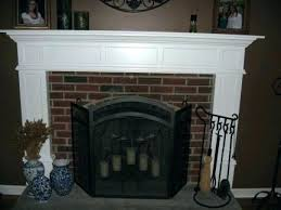 how are mantels attached to brick brick fireplace surround mantels picture of house brick fireplace mantel