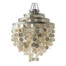 beach theme lighting. kouboo round chandelier with capiz shells champagne pendant lighting beach theme u
