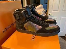 New Louis Vuitton Mens Rivoli Sneaker Boot High Tops