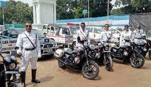 after gujarat kolkata police get five 750cc harley davidson bikes