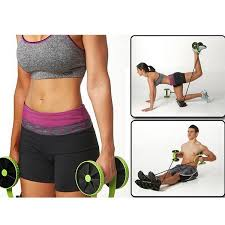 men woman fitness abdominal trainer revoflex xtreme abs workout kit resistance bands exercise multifunction crossfit exercise