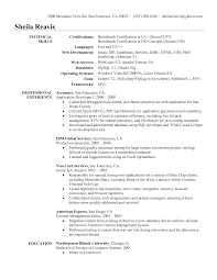 Experienced Programmer Resume Resume For Study