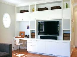 wall unit computer desk tv stand and combo units amazing entertainment center with 17