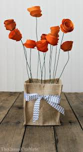 Tissue Paper Flower Centerpieces How To Make A Pretty Paper Flower Centerpiece