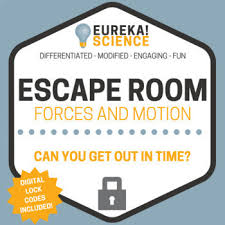 Science Physics Newtons Laws Forces And Motion Science Escape Room Breakout Room Physics