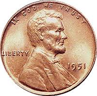 1951 Wheat Penny Value Cointrackers
