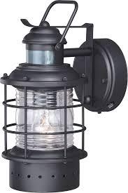 lamp outdoor flood motion sensor sconces outdoors