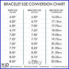 Bracelet Size Chart Men 14k Yellow Gold 6mm Wide Miami Cuban Curb Link Mens