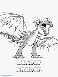 Free How To Train Your Dragon Coloring Pages How To Train Your
