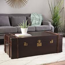 coffee table journey vintage leather trunk coffee table trunk coffee table uk innovative