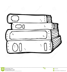 cartoon old books royalty free stock photos image 37025328