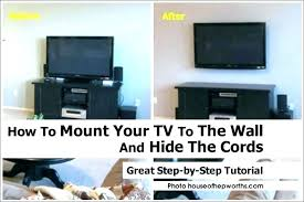 hide tv cords on wall how to hide wires behind how to hide wires without cutting hide tv cords on wall