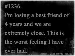 Losing A Best Friend Quotes Magnificent Losing A Best Friend Quotes Losing My Best Friend Quotes Quotesgram