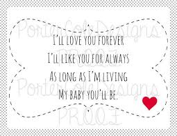Quotes From Children's Books Impressive Download I Ll Love You Forever Book Quotes Ryancowan Quotes