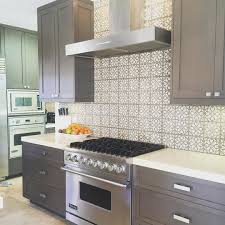 Full Size of Countertops & Backsplash:grey Kitchen Theme Amazing Pattern  Backsplash With Stainless Steel ...