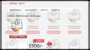 Address Database Software Free Email Address List List Of Email Addresses Free Email Address