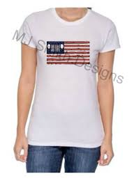 American Jeep Distress Flag Tshirt Us Flag Faded Glory Jeep Wrangler Jeep Cherokee Jeep Renegade