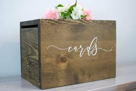 image 0 wedding card box with lock diy