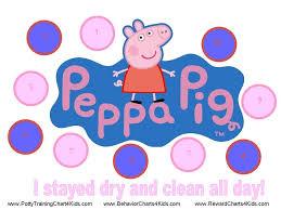 Peppa Pig Potty Training Reward Chart Printable Pin By Vivian Whetzel On For The Home Potty Training Girls