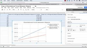How To Make A Double Line Graph Using Google Sheets