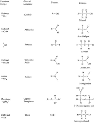 functional groups chart functional groups chart chart of the most common chemical